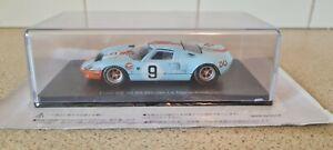 IXO/ SPARK - FORD GT 40 #9 - LE MANS WINNER 1968 - 1/43 SCALE MODEL CAR