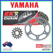 Yamaha YZ85 2002 - 2018  EK gold chain & Supersprox steel sprocket kit 14/47