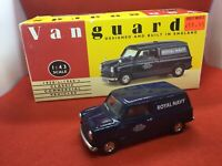 Vanguards VA14007 Austin mini van Royal Navy Diecast. Model