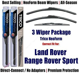 3pk Wipers Front/Rear NeoForm 2006-13 Land Rover Range Rover Sport 16220x2/30160