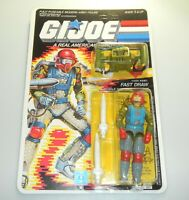 *RECARDED* 1987 GI Joe Fast Draw Figure Complete Sealed *CUSTOM File Card Back*