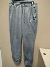 New Adidas Climawarm MLS New York FC Gray Sweathpants Ladies Sz Small 201BW