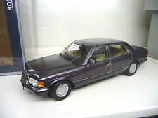 1:18 Norev Mercedes 560SEL bornit metallic W126 FREE SHIPPING  WORLDWIDE
