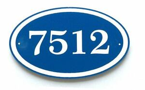 House Number Sign - Address Plaque - Comfort House # CO69