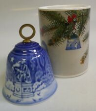 "1988 B&G ""Jule After"" Annual Bell Christmas Ornament - Mint In Box"