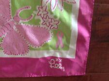 Lilly Pulitzer Ford/ Komen Breast Cancer Silk Scarf