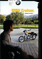 BMW Cruiser,R, 850C,1200C, Prospekt Brochure 07 -2000 - 28  Seiten