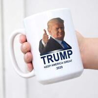 President Donald Trump 2020 Mug Keep America Great Mug White Cup Coffee Mug
