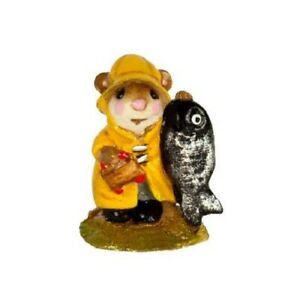 Wee Forest Folk M-041m Mini Fisher Mouse