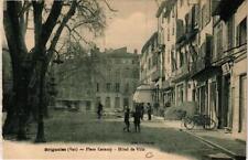 CPA Brignoles Place Caramy - Hotel de Ville (614227)