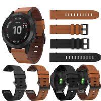 Correa Smartwatch  para Garmin Forerunner 935 - 945  Cuero 22 mm