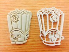 Poppy maíz shopkin Reino Unido Vendedor plástico Bizcocho Masita Cortador Fondant Pastel Decorati