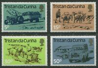 TRISTAN DA CUNHA: LAND TRANSPORT 1983 - MNH SET OF FOUR (GO215-PB)