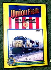 """20079 TRAIN VIDEO DVD """"UNION PACIFIC SUPER RAILROAD #5"""" LA GRANDE SUB"""