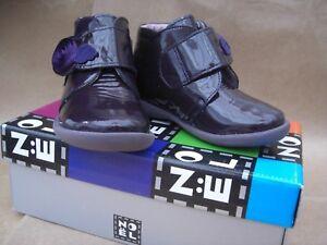 Noel rip-tape leather lined Purple boot size UK 7.5 EU 26 SALE £15.00