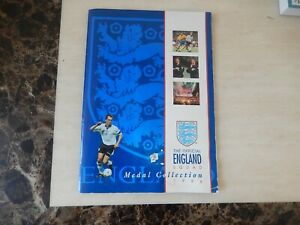 The Official England Squad Medal Collection 1996 Complete Set ,