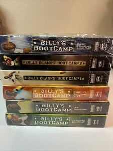 Billy Blank's Boot Camp VHS Lot (6) New Sealed (see notes)