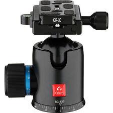 360 ° Cabeza de Bola de cardán panorama resistente de liberación rápida para cámaras DSLR Lente Telefoto