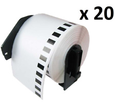 20 x Compatible DK11202 (62x100mm) Brother Address Labels For Brother QL-570