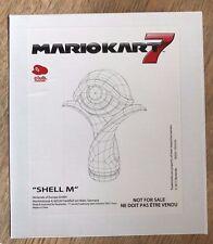 Mario KART Trophy 7-Shell M-Verde Koopa-nella casella Nuovo di zecca-CLUB NINTENDO