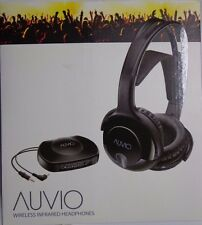 Auvio Wireless Infrared Headphones Rechargeable HDTV Stereo Black 3301722 -18
