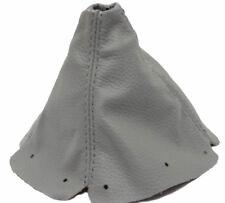 Gray Manual Shift Boot Real Leather For 99-05 Mazda Miata MX5
