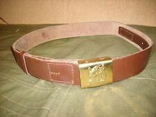 Romanian Army Leather Belt RSR Romania Communist Era Cold War