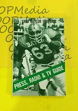 1980 Baylor University BEARS FOOTBALL MEDIA GUIDE YEARBOOK