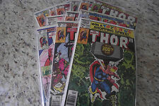 Thor 1980 Bronze Age Lot Run every reg issue from year 12 Fn/VN LOOK