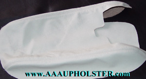 Armrest Center Console new Leather Kit for Jaguar XK XK8 XKR  1997-06 NED Ivory