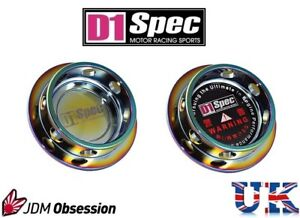 D1 SPEC FORGED OIL FILLER CAP NEO CHROME C FOR LEXUS ALTEZZA IS200 IS250 CT200