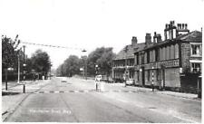 Bury - Manchester Road, old cars, milk float - RP Lilywhite postcard c.1960s
