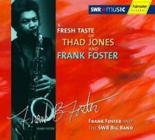 Foster, Frank + SWR Big Band  - A Fresh Taste Of Thad Jones CD NEU OVP