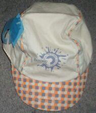 Casquette enfant beige orange Baroud 18-24 mois 49cm