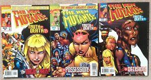 New Mutants - Truth or Death  # 1-3 - 1997 NM Full Set
