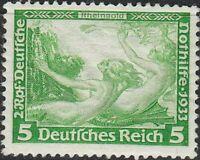 Stamp Germany Mi 501A Sc B51 1933 WWII 3rd Reich War Rheingold Richard Wagner MH