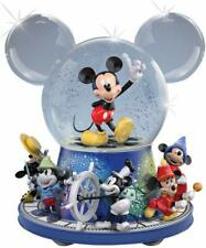 Disney Mickey Mouse Glitter Globe With Motion And Music