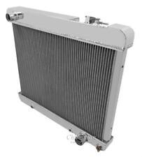 "1963-1966 Pontiac Bonneville High Performance 2 Row Aluminum Radiator 1"" Tubes"