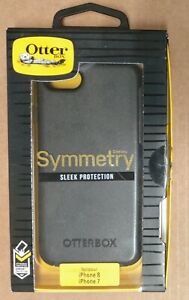 OtterBox Symmetry Series iPhone 8/7/SE 2020 Black Sleek Slim Drop Test
