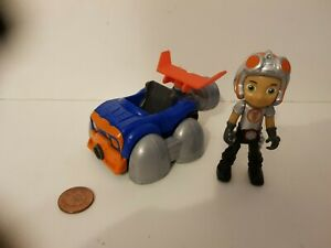 Rusty Rivets Flying Car & Figure Set, 4.5 inch, See Others & Combine Postage