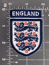 England National Football Team Three Lions Patch Crest English UK Soccer Futbol