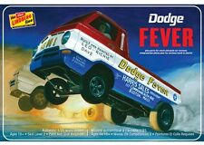 Lindberg Models HL135/12 1/25 Scale Dodge Fever Wheelstander Plastic Model Kit