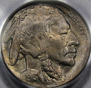 1913 Type 1 Buffalo Nickel Superb Gem BU PCGS MS-66... Flashy, and So Very Nice!