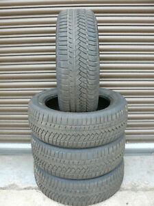 4x WINTER TYRES CONTINENTAL 215 55 17 98V XL 7mm FITTING AVAILABLE TESTED