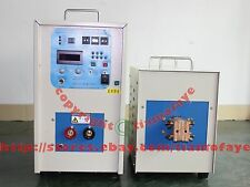 25KW 340-430V 20-50KHz DualStation Super Audio Frequency Induction Heater Melter