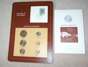 Coin Sets of All Nations Dominican Republic NEW 6 Coins 1983-1984