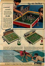 1971 ADVERTISEMENT Game Football Pro Bowl Electric Pinball Marx Sweepstakes