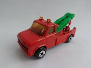Vintage Matchbox Lesney Superfast No61 Ford Wreck Truck RARE TP Issue GREEN Arms