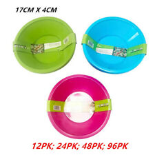 Reusable Plastic Bowl Kitchenware Party Round Food Travel Durable Salad BPA Free