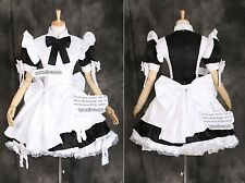 A-024 Gothic Lolita Maid Classic uniform cosplay costume abito costume dress misura
